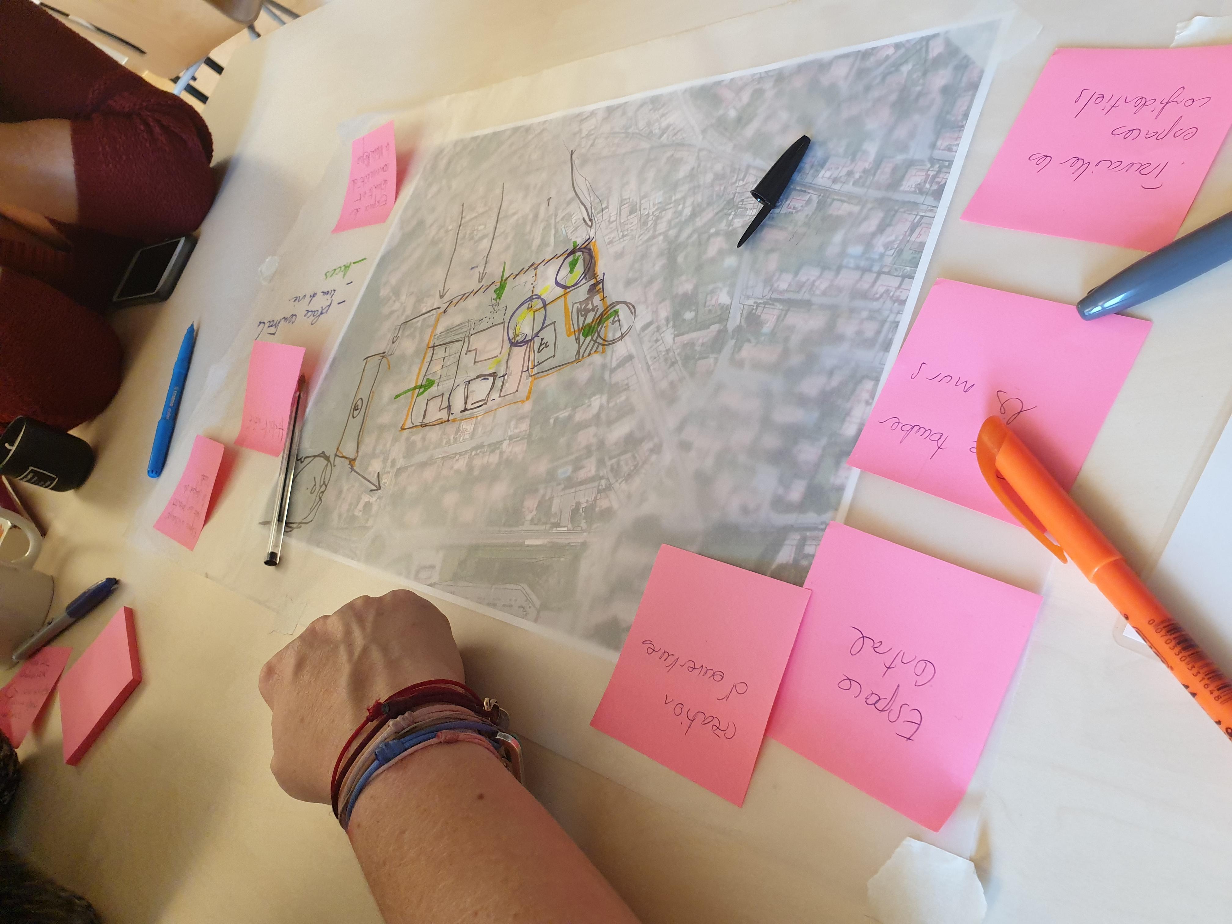 Atelier collaboratif avec élus et habitants